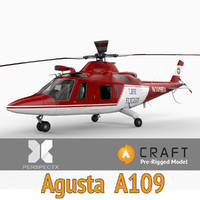 Agusta A109 Pre-Rigged for Craft Director Studio