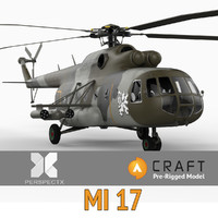 mi-17 pre-rigged craft director 3d model