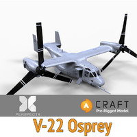 V-22 Osprey Pre-Rigged for Craft Director Studio