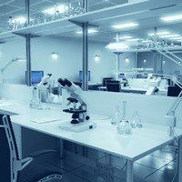 3d pharmaceutical laboratory equipment