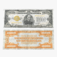 3d 10000 gold certificat 1934 model