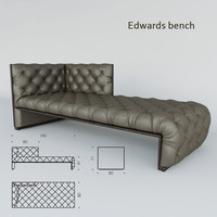 3d edwards bench