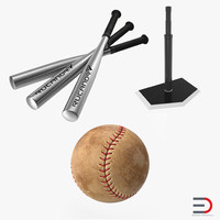 baseball batting 3d model