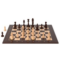 free chessset blender cycles 3d model