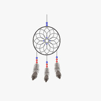 dreamcatcher dream catcher 3d c4d