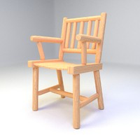 3ds max keene valley dining chair