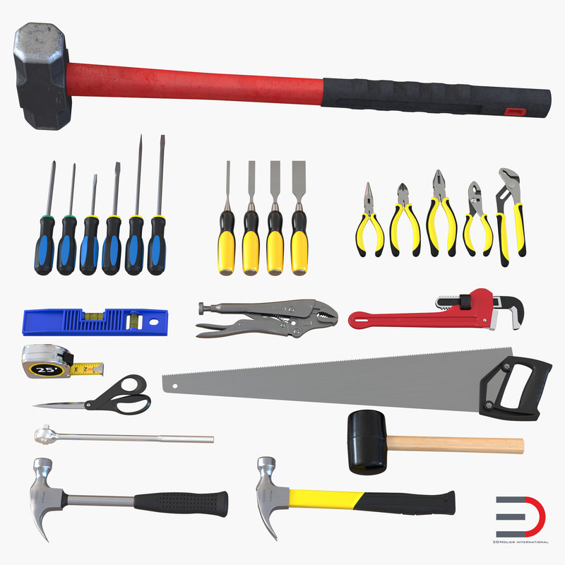 Tools Collection 3d models 000.jpg