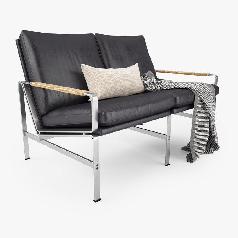 fk 6720 sofa seater 3d x. Black Bedroom Furniture Sets. Home Design Ideas
