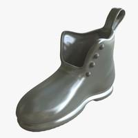 monopoly shoe 3d ma