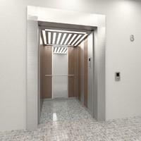 elevator vek - agat 3d model