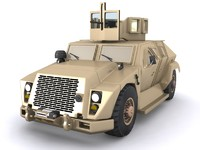 combat tactical vehicle 3d model