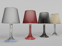 miss k lamp - 3d max