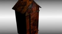 obj medieval cupboard