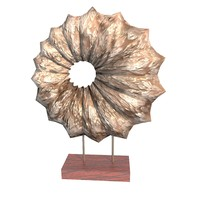 3dsmax decorative shell wooden stand