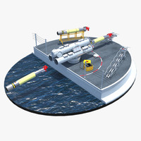 mark 32 surface vessel 3d max