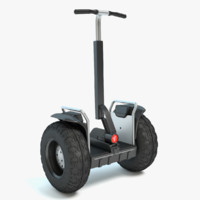 3d max segway scooter