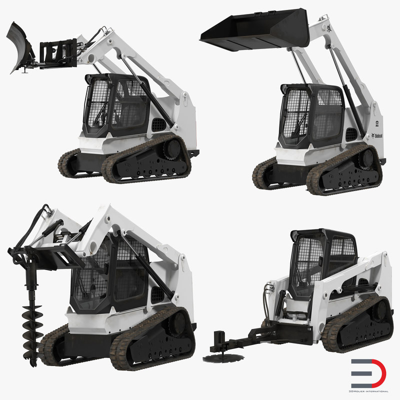 3d models of Compact Tracked Loaders Rigged Collection 00.jpg