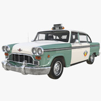 checker taxicab 1982 3d ma