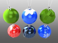 new year toys 3d model