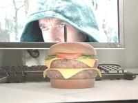 3ds max hamburger