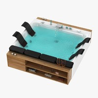 3d bath thais art