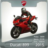 3d 2015 ducati 899 model