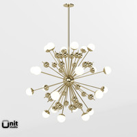 pendant lamp stilnovo 3d model