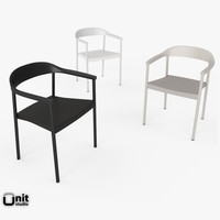 3ds illum armchair scandinavian