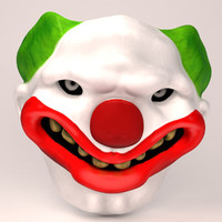 clown mask max
