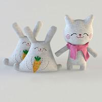 3d model cats