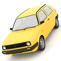 volkswagen golf mk2 d model