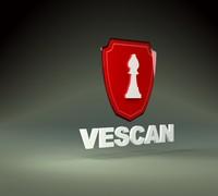 3d model logo vescan