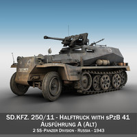 3ds sd kfz 250 11
