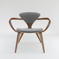 3d model cherner lounge chair