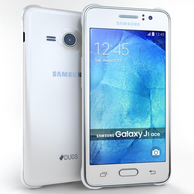 Samsung Galaxy J1 Ace 3d Model