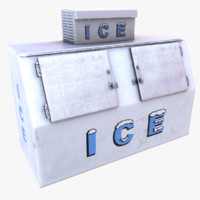 ice machine 3d obj