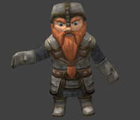 free fbx model gnome fantasy