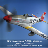 3d north american - flying