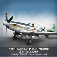 North American P-51D Mustang - Fighting Lady