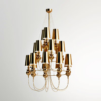 3d model of pendant lamp josephine queen