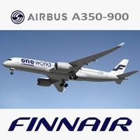 3d airbus finnair