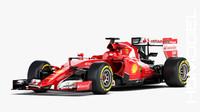F1 Ferrari SF15-T Formula 2015