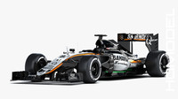 3d max force india mercedes vjm08