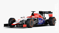 3d manor marussia mr03 2015 model