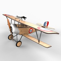 french nieuport 11 c4d