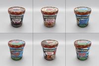 Ben & Jerry's Ice Cream set 1