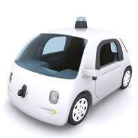 3d google car