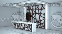 free reseption 3d model