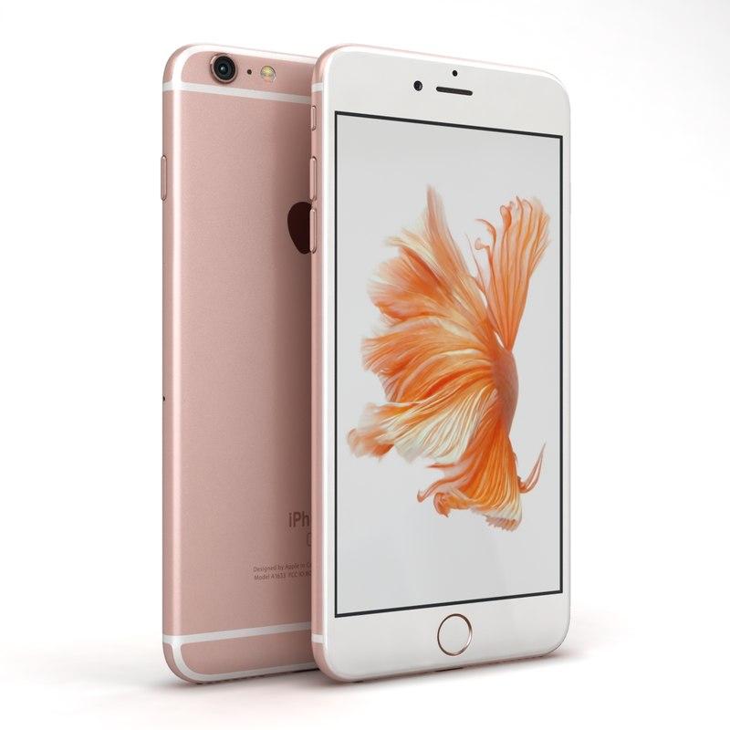 3ds apple iphone 6s rose. Black Bedroom Furniture Sets. Home Design Ideas