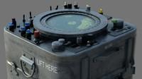 US Navy battleship - Radar